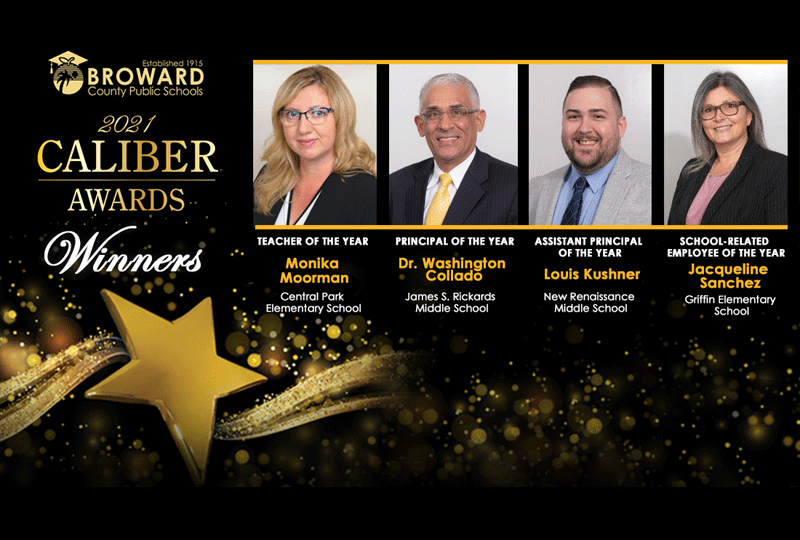 2021 Caliber Award Winners