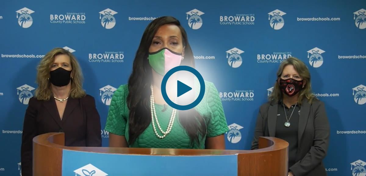School Board update regarding the wearing of masks for the 2021/22 school year.